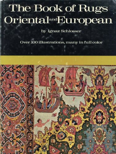 Antique Oriental European Carpets Rugs - Types Regions Techniques / Scarce Book
