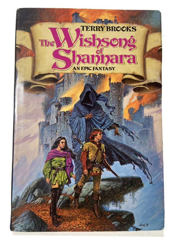 The Wishsong Of Shannara: An Epic Fantasy By Brooks, Terry 1st Bce Hardcover Dj