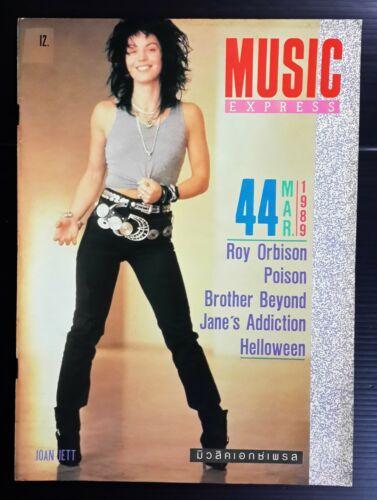 1989 Joan Jett Sheena Easton Ozzy Osbourne John Taylor Quiet Riot Book MEGA RARE