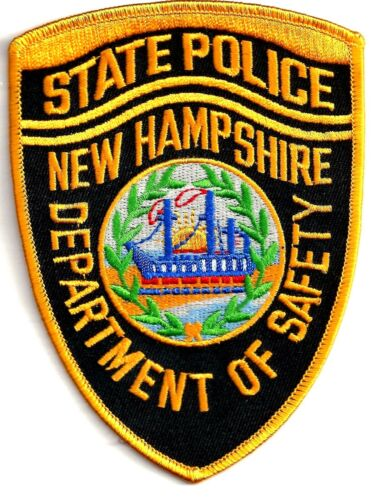 NEW HAMPSHIRE STATE POLICE - SHOULDER PATCH - IRON OR SEW-ON PATCH