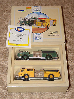 Corgi American la France Scottsdale and South River - 2 vehicles in one box