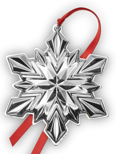Gorham Annual Sterling Silver Snowflake Ornament 2020 NIB