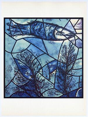 Chagall Jerusalem Windows - Tribes of Israel 1962