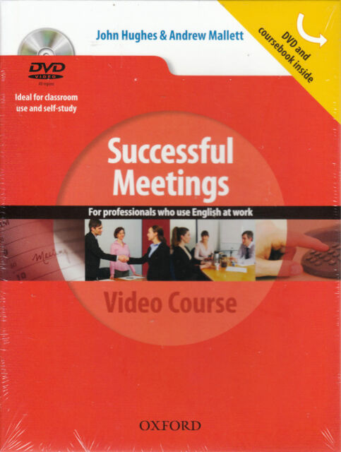 Oxford SUCCESSFUL MEETINGS VIDEO COURSE @BRAND NEW@ Boxed DVD & Coursebook Set