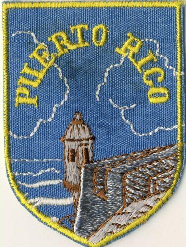 """Puerto Rico PR Souvenir Tourist 2.75"""" Patch"""