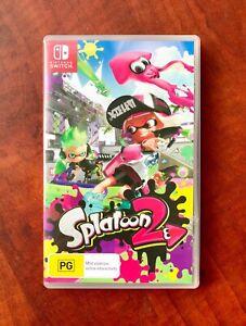 Nintendo Switch. Splatoon 2. Excellent Condition $45 or Swap
