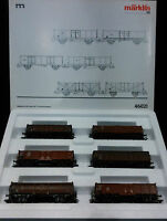 Set Seis Vagones De Mercancías Marklin Ref. 46021 -  - ebay.es