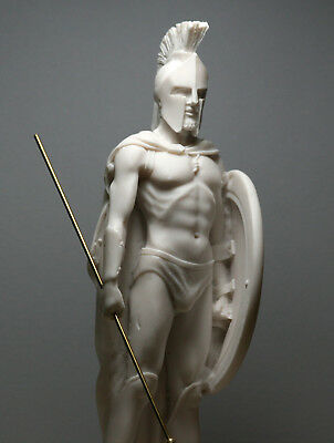 LEONIDAS Spartan King  Greek Warrior Cast Marble Statue Sculpture figure 9.45΄΄