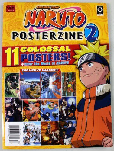 Naruto - Posterzine 2 - 11 Colossal Posters - Manga/Anime