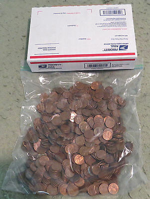 10 Lbs Copper Lincoln Cents 1959 1982 Bullion Pennies Invest Poor Man Gold