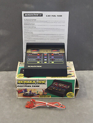 Vintage 1980s SCALEXTRIC C451 Fuel Tank (BOXED) - Tested and Working
