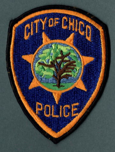 Chico California Police Patch