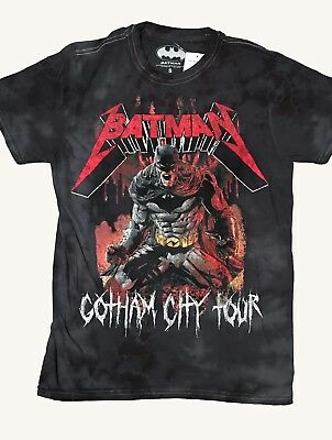 City Shirts (BATMAN GOTHAM CITY TOUR T-SHIRT - BRAND NEW WITH)