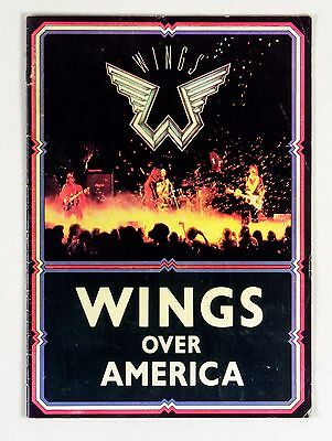 Paul McCartney Wings Over America Tour 1975 1976 Program Book