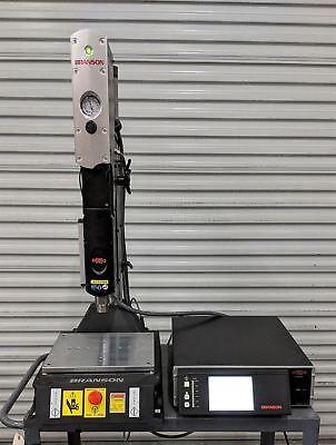 Branson 2000x 2000xdt Ultrasonic Welder 40khz Aed 2.0 Actuator Nov 2015