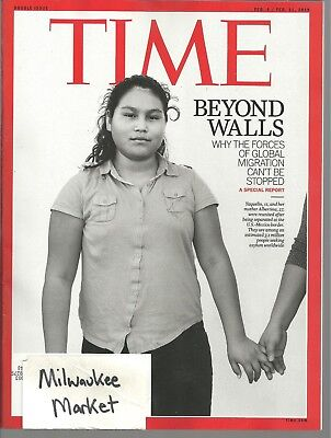 Time February Feb 4 11 2019 U.S. Mexico Border Free Fast SnH Best Deal Cover