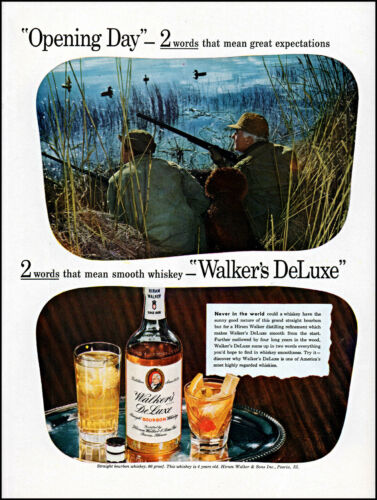 1944 Duck Hunting opening day Walker