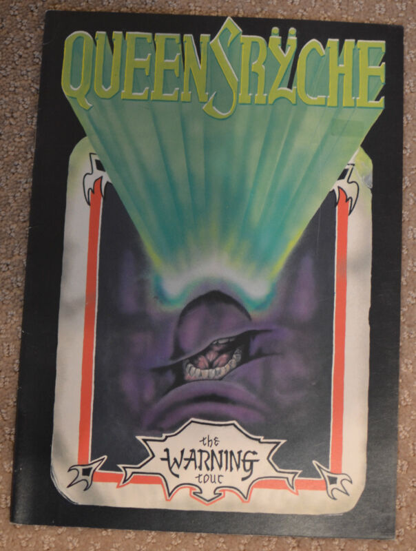 Queensryche - The Warning Tour Program Book Programme 1984