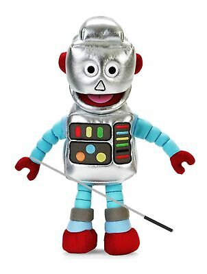 Silly Puppets Robot Glove Puppet Bundle 14 inch with Arm Rod