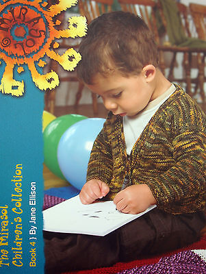 Mirasol CHILDRENS COLLECTION. knitting patern BOOK 4. SIZES 1 to18 YEARS.