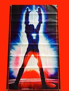 LARGE TRON Arcade Video Game Banner Flag Poster