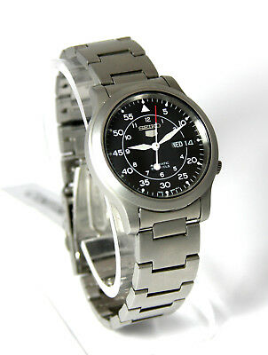 Authentic Seiko Mens Dress Watch Automatic 21 Jewels Stainless Steel 7S26-06G4
