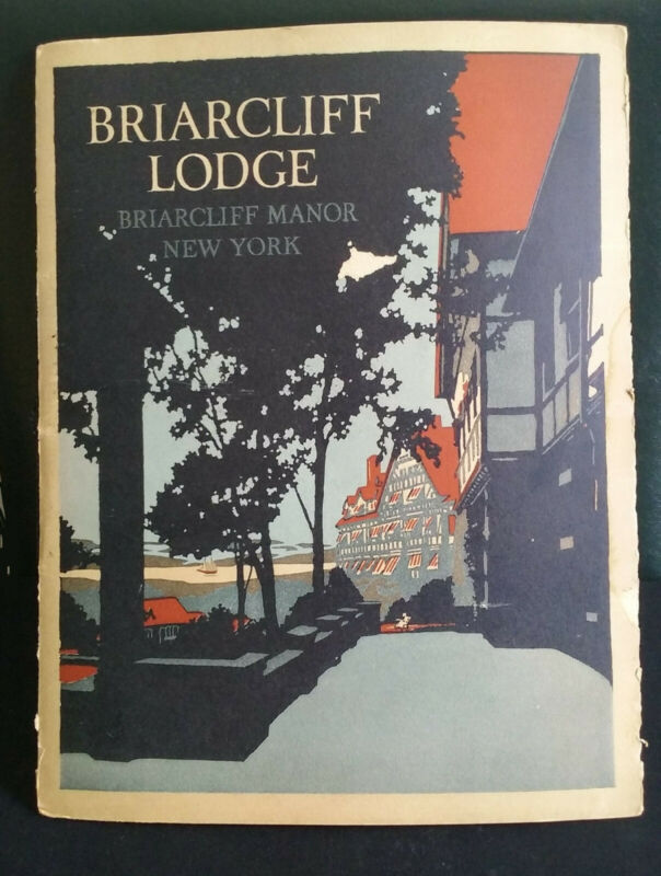 BRIARCLIFF LODGE Book - New York - Health Annex - Sanitarium - NY - 1930s