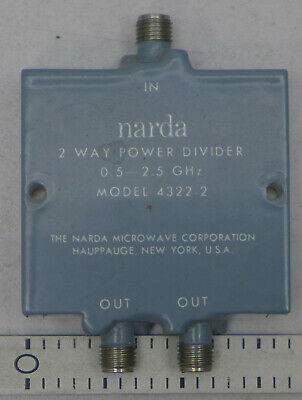 Narda 4322-2 2-way Power Divider