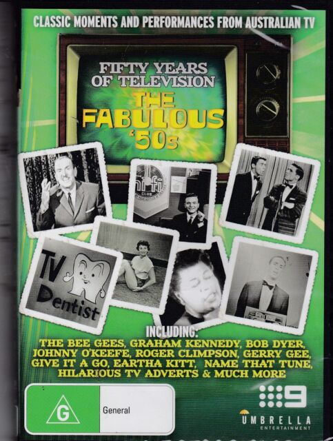FIFTY YEARS OF TELEVISION - THE FABULOUS 50S -  DVD