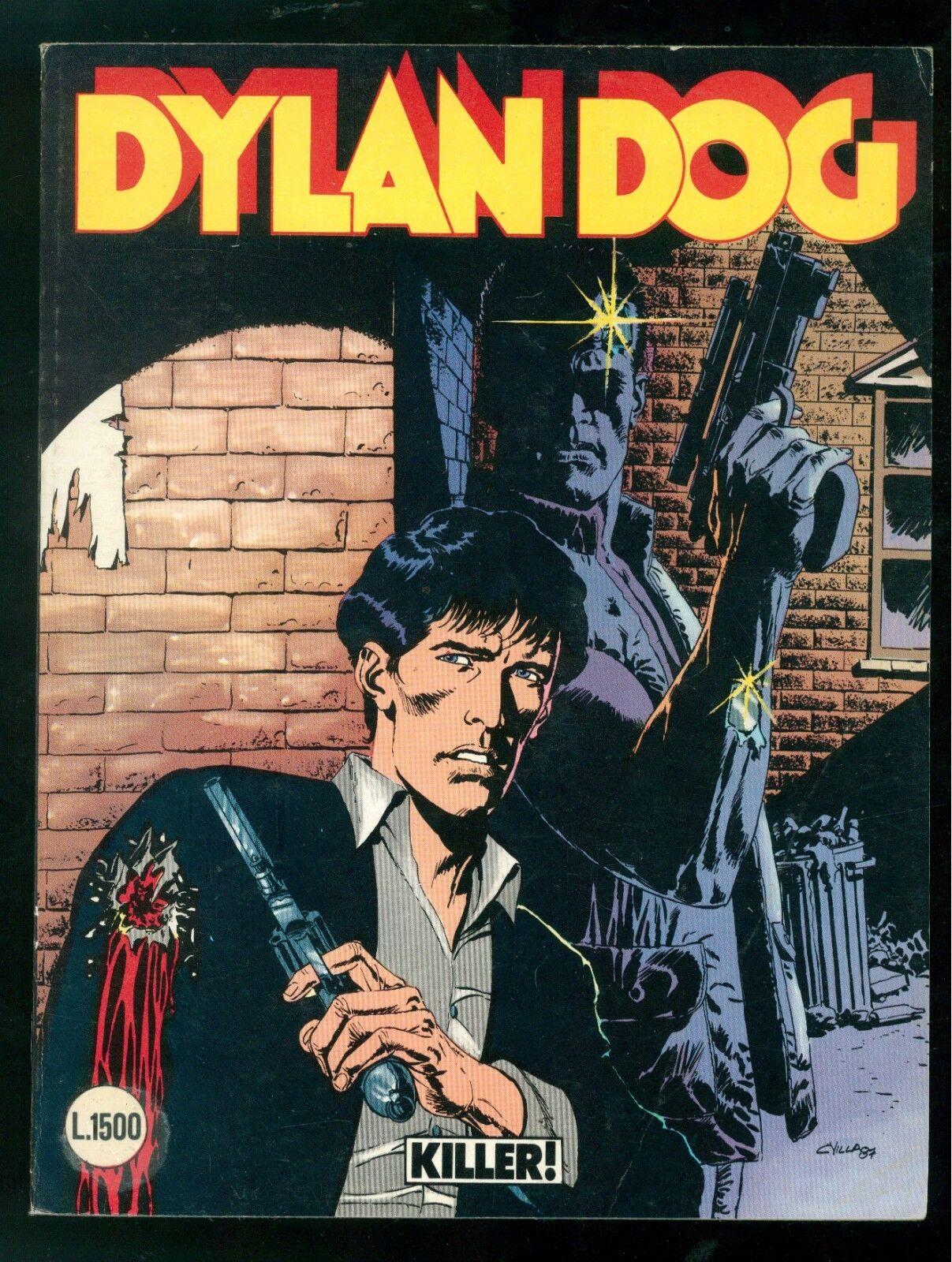 DYLAN DOG KILLER! NUMERO 12 EDIZIONE ORIGINALE SETTEMBRE 1987 OTTIMO