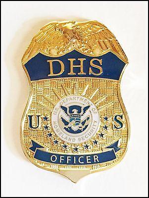 Department of Homeland Security Officer Mini Badge Lapel Pin