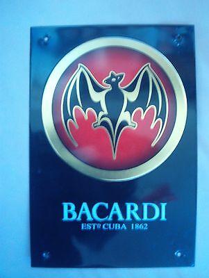 Plaque Publicitere Decorative Bacardi Estd Cuba 1862 segunda mano  Embacar hacia Argentina