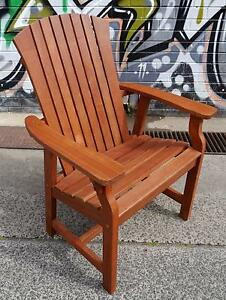 New Replica Adirondack Timber Lounge Chairs Outdoor Furniture Melbourne CBD Melbourne City Preview