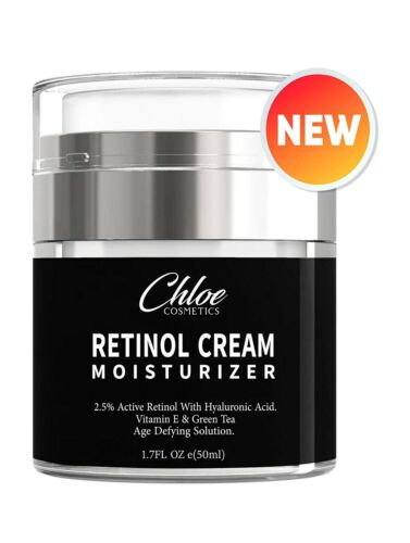 Chloe Cosmetics Retinol Moisturizer for Face and Eye area |
