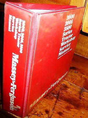 Massey Ferguson 3505 3525 3545 Tractors Service Manual Wbinder