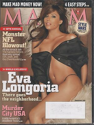 "Maxim September 2006 Eva Longoria, ""Murder City USA"" VG 021116DBE"