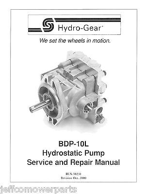 PUMP BDP-10L-990 HYDRO GEAR OEM OUTDOOR EQUIPMENT