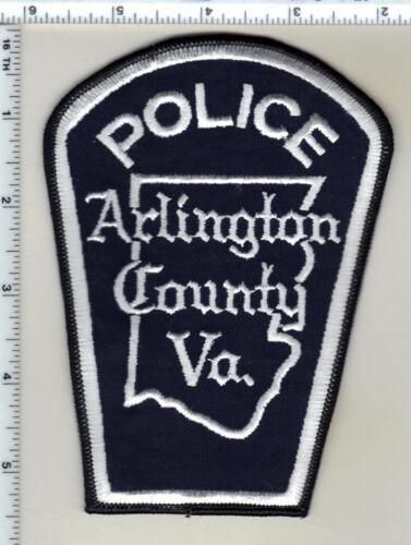 Arlington County Police (Virginia) Uniform Take-Off white Shoulder Patch 1980