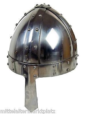 Wikinger Nasal Helm ca1,6mm Mittelalter LARP Rüstung Ritter Normannen LARP 11118