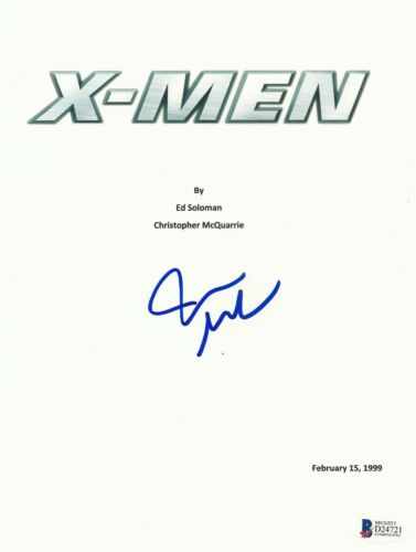 JAMES MARSDEN SIGNED AUTOGRAPHED X-MEN 'CYCLOPS' MOVIE SCRIPT BECKETT BAS COA 2
