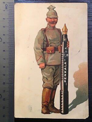 postcard advertisement for fountain pen (244.)