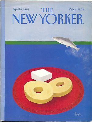 New Yorker Magazine April 6 1992 Heidi Goennel Lars Gustafsson Edith Oliver