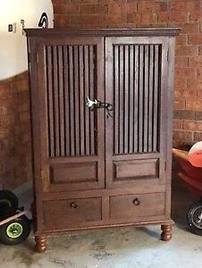 Beautiful Balinese drawers/ cupboard/ TV unit cabinet Warriewood Pittwater Area Preview