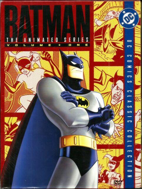 Batman:The Animated Series Vol 1. 4 DVD Box. In Shrink!