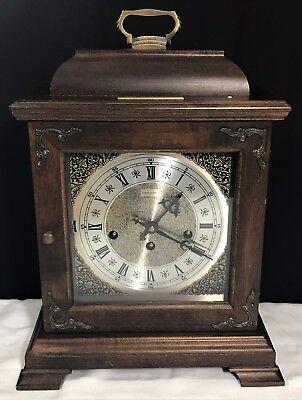 Hamilton Wheatland Westminster Chime Key Wound Mantel Clock General Motors Corp