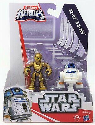 Star Wars C-3PO & R2-D2 Galaxy Galactic Playskool Heroes Figure Toy