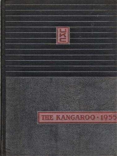 "1955 ""Kangaroo"" - University of Kansas City Yearbook - Kansas City, Missouri +"