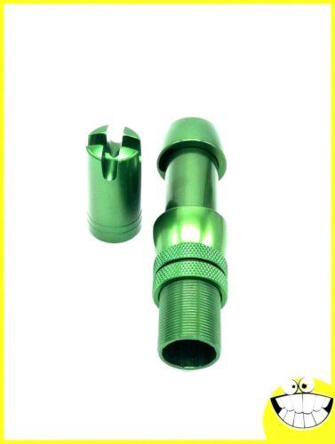 Reel Seat, Heavy Duty, Anodized Aluminum, Green