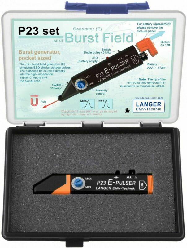 Langer EMV P23 Set - Mini Burst Field Generator (E-Field) EMC Tools and Probes