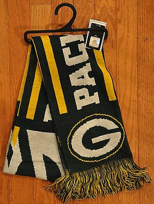 Green Bay Packers Knit Winter Neck Scarf 65 Ts11 Great Design